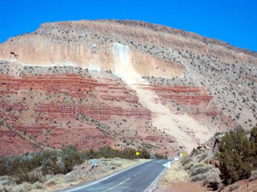 Jemez Rockslide